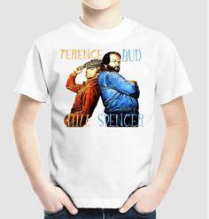 Terence Hill és Bud Spencer gyermekpólón Terence Hill, Bud, Mens Tops, T Shirt, Fashion, Supreme T Shirt, Moda, Tee, Fashion Styles