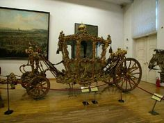 18th Century carriage. Schonbrunn Palace, Vienna