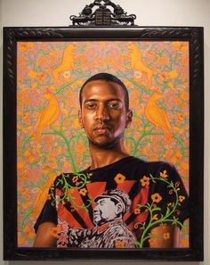 #KehindeWiley painting at the Jewish Museum