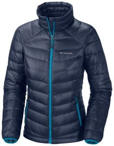 Packing serious heat for the active winter adventurer, this progressive women's jacket is outfitted with our performance-enhanced down—a combination of 60g Omni-Heat® synthetic insulation and 800-fill goose down means 860 TD of ultimate lightweight warmth and heat retention, even when wet. The rich, water-resistant shell fabric has a lovely sheen, and the clean, flattering design will take you from mountain to street with ease.