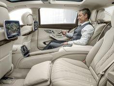 Mercedes-Maybach busca conforto de avião em novo sedã de luxo                                                                                                                                                                                 Mais