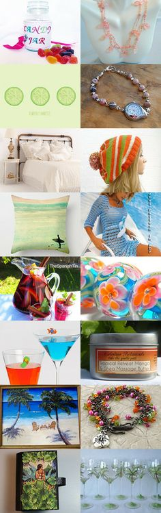 Tropical Retreat by Katie Oleksy on Etsy--Pinned with TreasuryPin.com #buyfromwomen