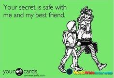 Your secret is safe!