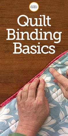 Finishing a quilt with binding isn't a difficult thing to learn. Diane Harris provides helpful tips and techniques for binding a finished quilt. Go through each step with Diane to ensure successful binding on your quilt. Find out how fun and easy these binding techniques can be!