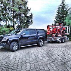 Wolfsladung #amarok #volkswagen #pickup #lift #arbeitsbuehne #job