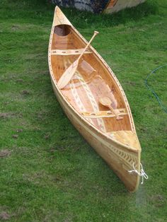 Unique handmade wooden canoes made from exotic timbers