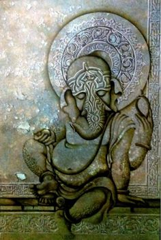 Ganesha with blessings