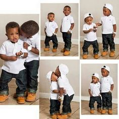 Clothes and footwear Cute Black Babies, Beautiful Black Babies, Beautiful Children, Cute Babies, Baby Kids, Toddler Boy Fashion, Little Boy Fashion, Toddler Outfits, Baby Boy Outfits