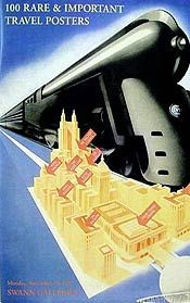 Where is the train in this vintage travel poster going?