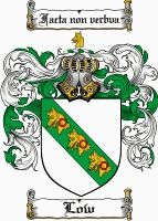Low Coat of Arms / Low Family Crest