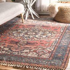 Shop nuLOOM Multi Flatweave Handmade Traditional Tibal Medallion Border Area Rug - On Sale - Overstock - 25416389