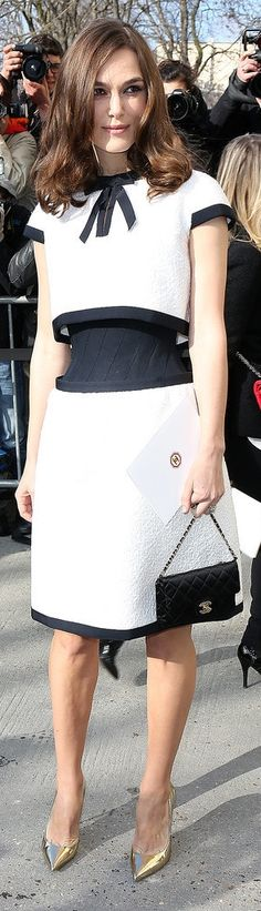 Keira Knightley's baby bump is going to wear Chanel Couture.