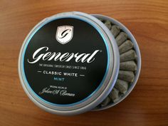 General Classic White Mint #snus