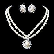 Beautiful Clear Crystals And Imitation Pearls Jew... – EUR € 5.45