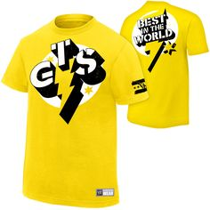 CM Punk GTS Authentic T-Shirt - WWE-last years shirt ...got this for her as well....my little wrestling Diva
