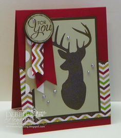 Stampin' Up! Remembering Christmas for the Fusion Card Challenge by Debbie Henderson, Debbie's Designs.