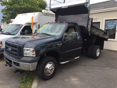 2006 Ford Super Duty F-350 DRW 9 foot Mason Dump Truck 4x4