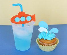 CupCake Gotas de Agua