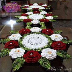 Don't miss 13 exquisite beauti Crochet Flower Tutorial, Crochet Flower Patterns, Doily Patterns, Crochet Designs, Crochet Flowers, Crochet Home, Irish Crochet, Crochet Crafts, Crochet Projects