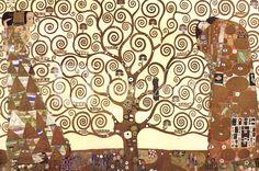 Tree of Life, c.1909 by Gustav Klimt art print