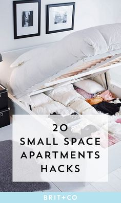 Make the most of your small space apartment with these home hacks.