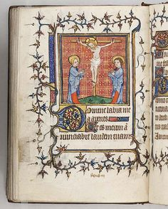The Crucifixion - Book of Hours - French - 1400-1415