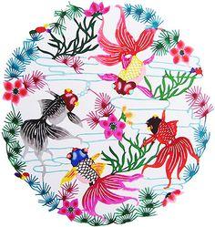 Chinese PaperCut, Goldfish 720001221