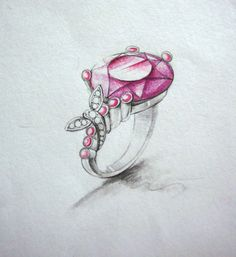 Rose Ring Sketch