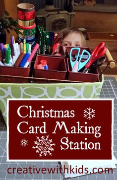 As part of our Creative Christmas Countdown this year we've made a card making station. Our Christmas Card Making Station makes it easy for the kids to make cards, and since I set it up early in the month, they have time to make cards for many of their friends and family without feeling rushed. The […]
