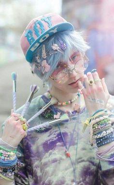 Ideas For Hair Ideas Pink Pastel Goth Vêtements Goth Pastel, Estilo Goth Pastel, Pastel Goth Makeup, Pastel Goth Fashion, Pastel Grunge, Kawaii Fashion, Grunge Fashion, Trendy Fashion, Pastel Style