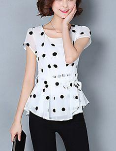 Estate, Peplum, My Style, Women, Fashion, Blouses, Moda, Fashion Styles, Veil