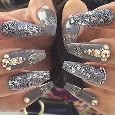 Caviar and gems
