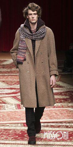 Твидовое пальто Missoni