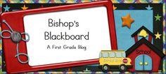 Bishop's Blackboard (first grade): http://bishopsblackboard.blogspot.com/