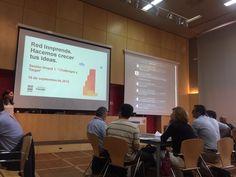 Hoy nos encontramos en la Fundación Cruzcampo en la primera sesión inspiradora de #Redinnprende hablando sobre innovación y SurSideStory