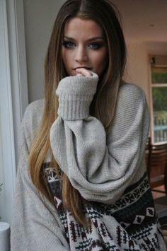 oversized sweaters <3