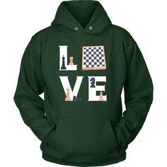 Chess - LOVE Chess - Hobby Shirt