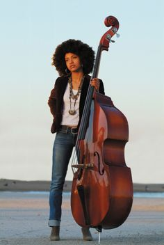 Esperanza Spalding - Grammy Award-winning Bassist, songwriter, and musician.