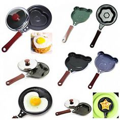 Wake up to a creative breakfast! Mini heart/ bear/ star/ flower shape frying pan for omelet. Like it? Choose yours by clicking on the page - €13.71