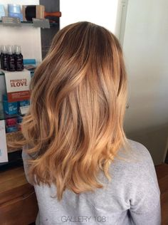 Welcome summer with some beautiful blonde babylights like these by stylist Becky from Gallery 108. #AvedaBlonde #AvedaColor