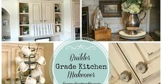 Builder grade kitchen transformed to French Country.