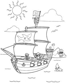 Soak up some colorful rays with this printable coloring