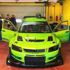 Tuner Cars, Jdm Cars, Need For Speed Cars, Green Cars, Mitsubishi Lancer Evolution, Car Engine, Car Painting, Car Wrap, Impreza