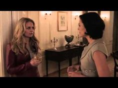 """Once Upon A Time 1x01 """"Pilot"""" Regina meets Emma, they talk about Henry"""