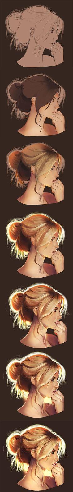 rostro femenino