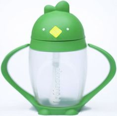 Lollacup Infant & Toddler Straw Cup - Green OMG and made in the usa !!! I am buying one for Delilah