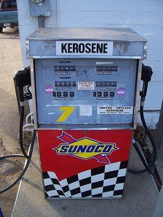 Sunoco Kerosene Pump by The Upstairs Room, via Flickr