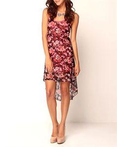 Trinity Floral Hi-Low Dress