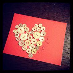 Homemade cards: <3