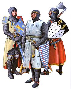 • Roger de Trumpington, c. 1290 • William de Valence, c. 1296 • Robert de Bures, c. 1300